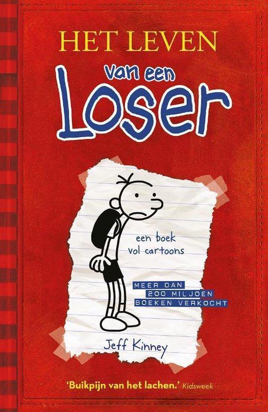 Boek cover Het leven van een Loser 1 - Het leven van een Loser van Jeff Kinney (Hardcover)