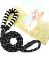 Hondenriem - Sliplijn - Cesar Millan - Trainings halsband- Zwart - Pixypet