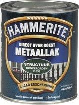 Hammerite Metaallak - Structuur - Donkergroen - 750 ml