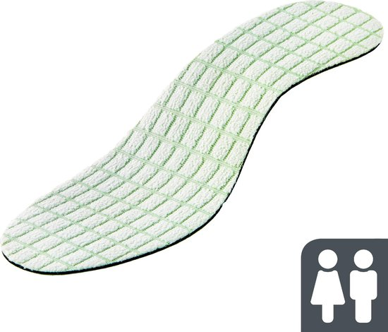Shoefresh geurvreter bamboe inlegzolen – 1 paar inlegzooltjes – geurvreters schoenen – anti-zweetvoeten