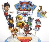 Paw patrol | cake flags | taart vlag | taartversiering | taart topper | taart decoratie | decoratie topper