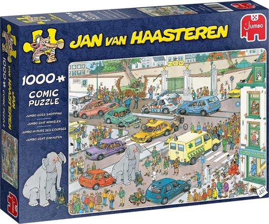 Jan van Haasteren Jumbo gaat winkelen puzzel – 1000 stukjes