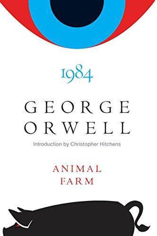 Boek cover Animal Farm and 1984 van George Orwell (Hardcover)