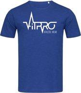 FitProWear Casual T-Shirt blauw - maat XXL