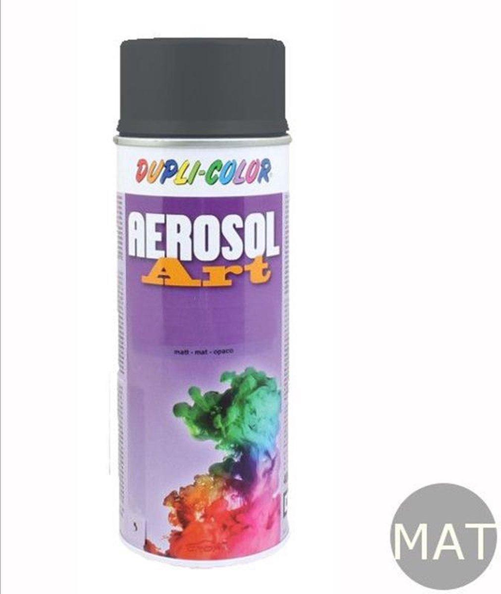 Spuitbus Ral 7016 MAT Antracietgrijs Duplicolor Aerosolart 400 ml