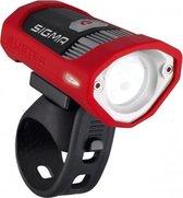 Sigma Buster 200 Led Fiets Koplamp - Accu – Rood
