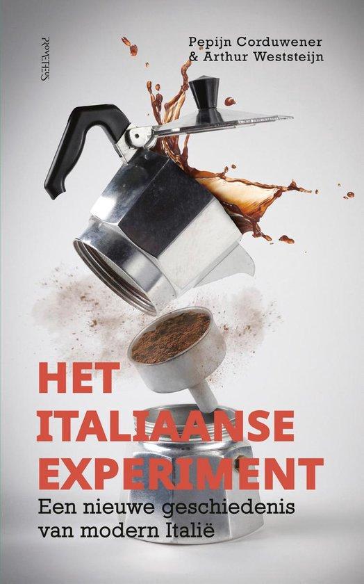 Boek cover Het italiaanse experiment van Pepijn Corduwener (Onbekend)