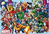 Educa Alle superhelden van Marvel - 1000 stukjes