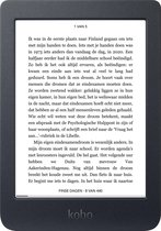 Kobo Nia - E-reader - Display van 6 inch - 8 GB - Wifi - Zwart