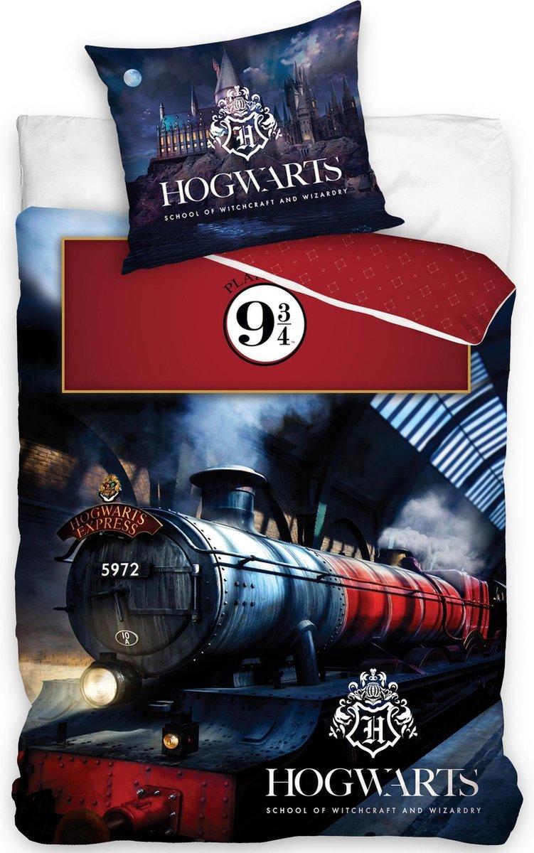 Harry Potter Dekbedovertrek Hogwarts Express - 140  x 200 cm - Multi kopen