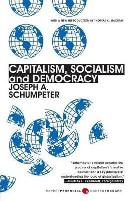 Afbeelding van Capitalism, Socialism and Democracy