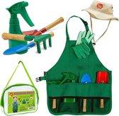 Kinder tuinierset - tuingereedschap kinderen - kinder tuinset