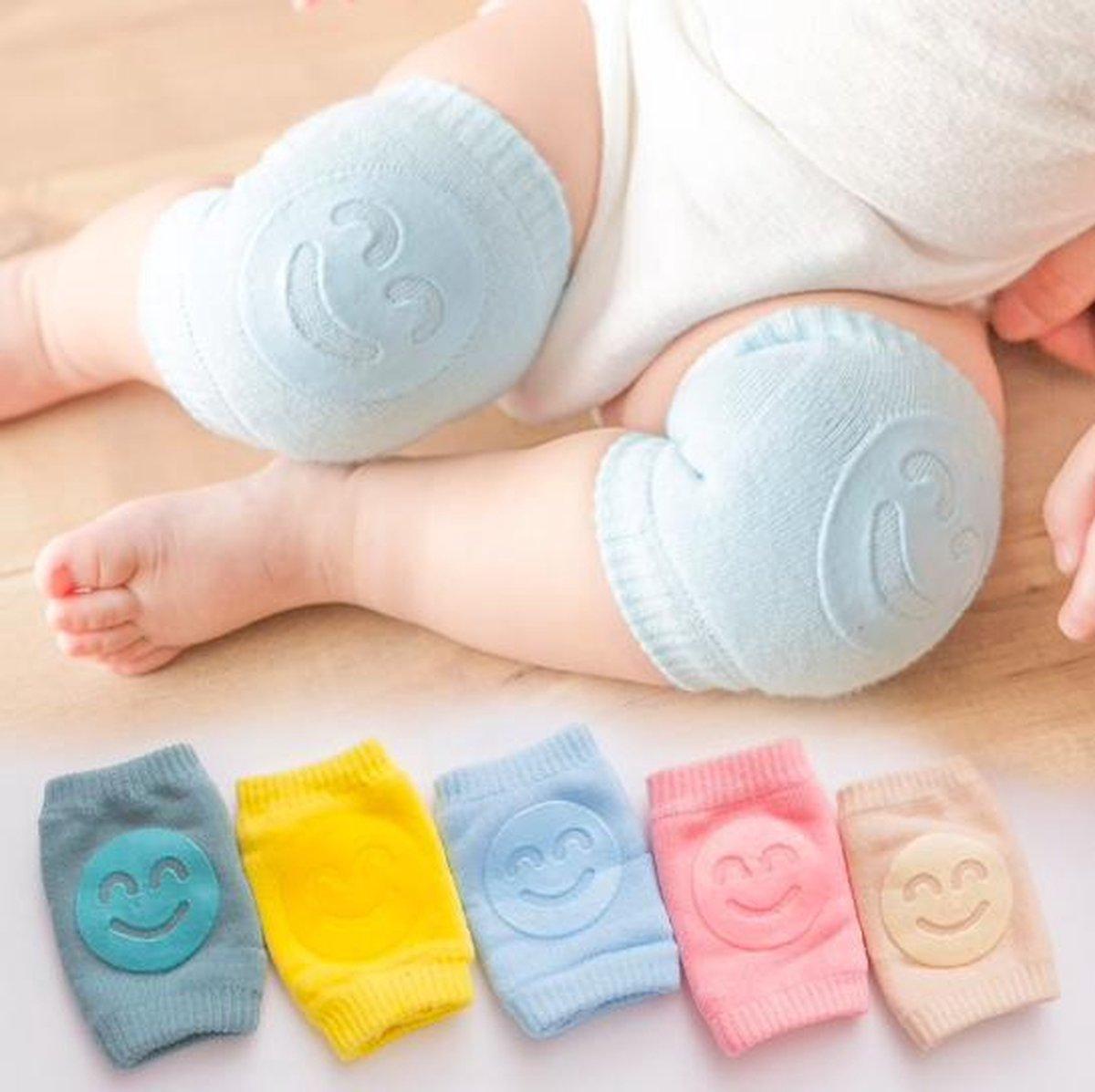 Baby Anti Slip Knie Kussen - Bescherming van de Knie - Gevoeligheid Baby - Zachte Rekbare Stof