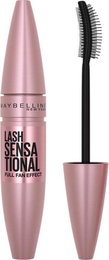 Maybelline Lash Sensational Mascara - Voordeelverpakking - Intense Black - Zwart - Maybelline