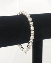Elegante 925 Sterling Zilveren Kralenarmband Voor Vrouwen En Meisjes