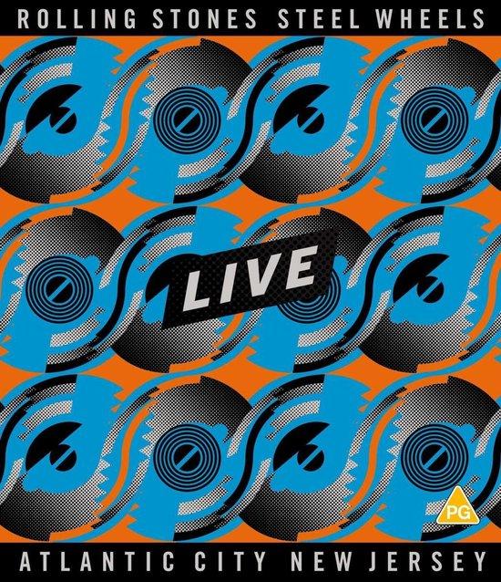 CD cover van Steel Wheels Live (Blu-ray) van The Rolling Stones