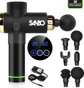 Sanbo® - Massage gun - sport en relax massage - Inclusief Koffer