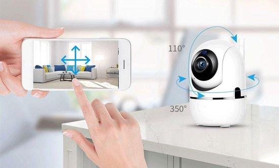 * WIFI Camera - Beweegdetectie - Met App - WiFi - Smart Camera - Opslag In Cloud Of SD - Huis dier camera - Webcam- wifi camera binnen- tweeweg audio