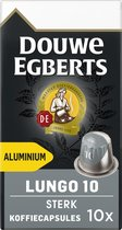 Douwe Egberts Lungo Extra Intens koffiecups - 10 x 10 cups