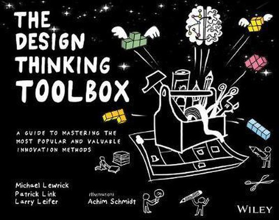 Boek cover The Design Thinking Toolbox van Michael Lewrick (Paperback)