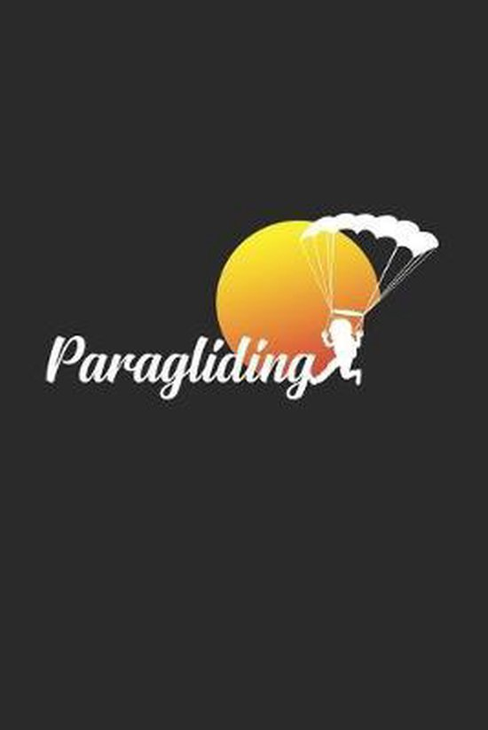 paragliding: 6x9 Paragliding - grid - squared paper - notebook - notes
