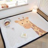 Love by Lily - groot speelkleed - Standing Tall Giraffe - 150x200cm