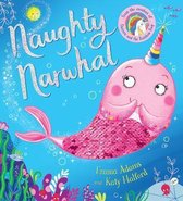 Naughty Narwhal colour-changing sequin book (PB)