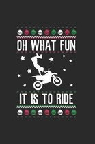 Christmas Fun Ride-Dirt Bike Notebook