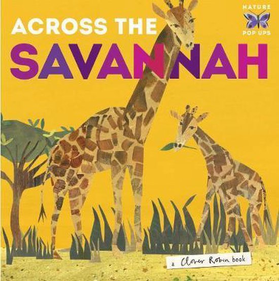 Boek cover Across the Savannah van Libby Walden (Onbekend)