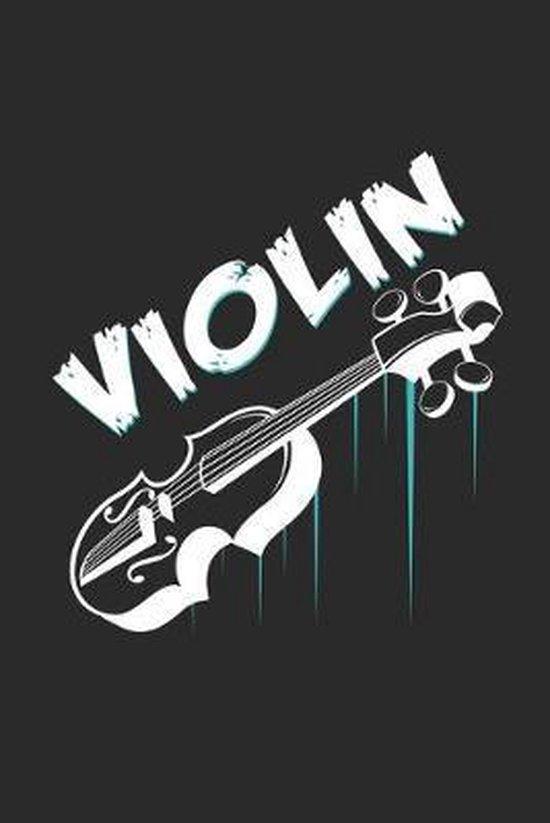 Violin: 6x9 Violin - dotgrid - dot grid paper - notebook - notes