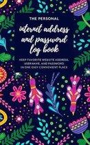 Boho Password Log Book