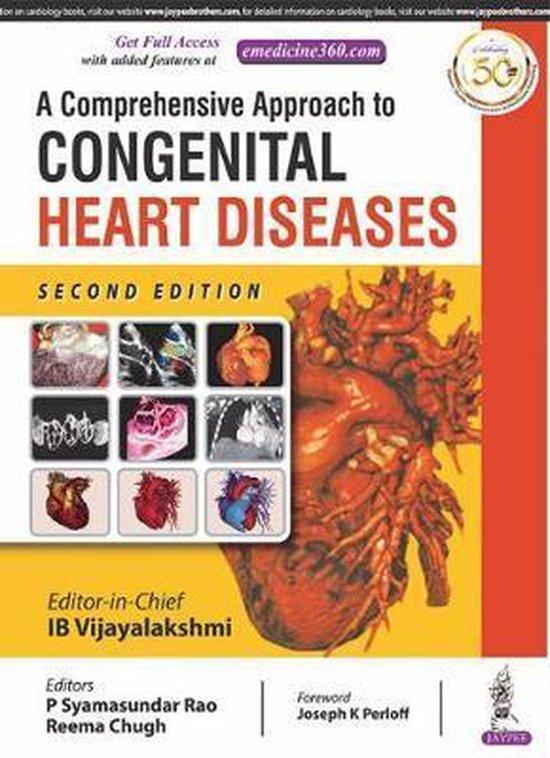 Boek cover A Comprehensive Approach to Congenital Heart Diseases van Vijayalakshmi, Ib (Hardcover)