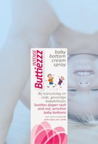 Luieruitslag: Buttiezzz Intense Baby bottom cream spray