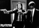 Pulp Fiction poster -Tarantino- zwart-wit-formaat 61x91.5 cm