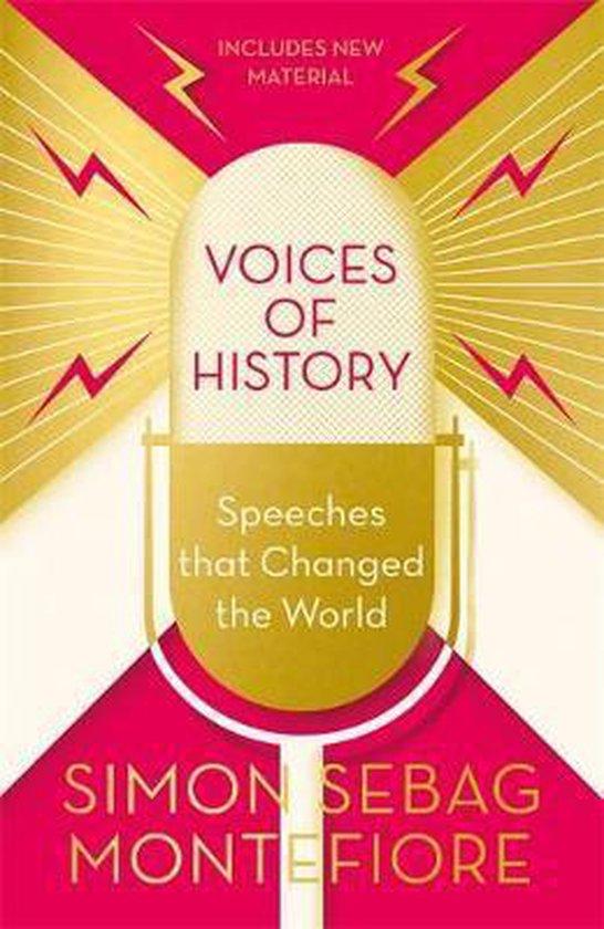 Boek cover Voices of History van Simon Sebag Montefiore