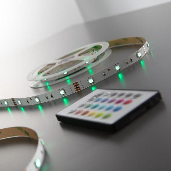 B.K.Licht - LED strip - 5 meter - RGB - incl. afstandsbediening - incl. kleurverandering - B.K.Licht