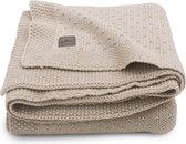 Jollein Wieg deken Bliss knit 75x100cm - nougat