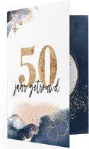 LocoMix - 50 jaar getrouwd - Jubileum huwelijk - Muziekkaart - Gouden huwelijk - Felicitatiekaart