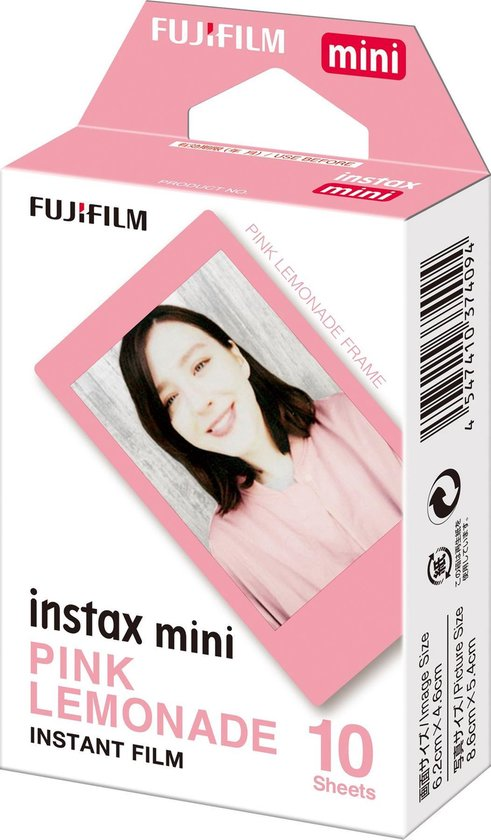 Fujifilm Instax Mini Film - Pink Lemonade - 10 stuks