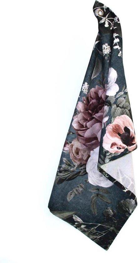 Imbarro- theedoek- floral eden- set van 2 stuks