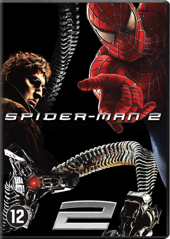 Cover van de film 'Spiderman 2'