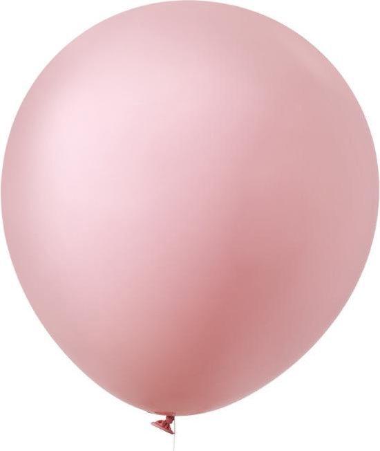 Mega ballon lichtroze (60cm) House of Gia