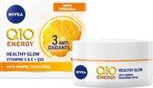 NIVEA Q10plusC Anti-Rimpel +Energy Dagcrème - SPF 15 - 50ml