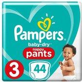 Pampers Baby Luiers - Baby-Dry Maat 3 44 Stuks