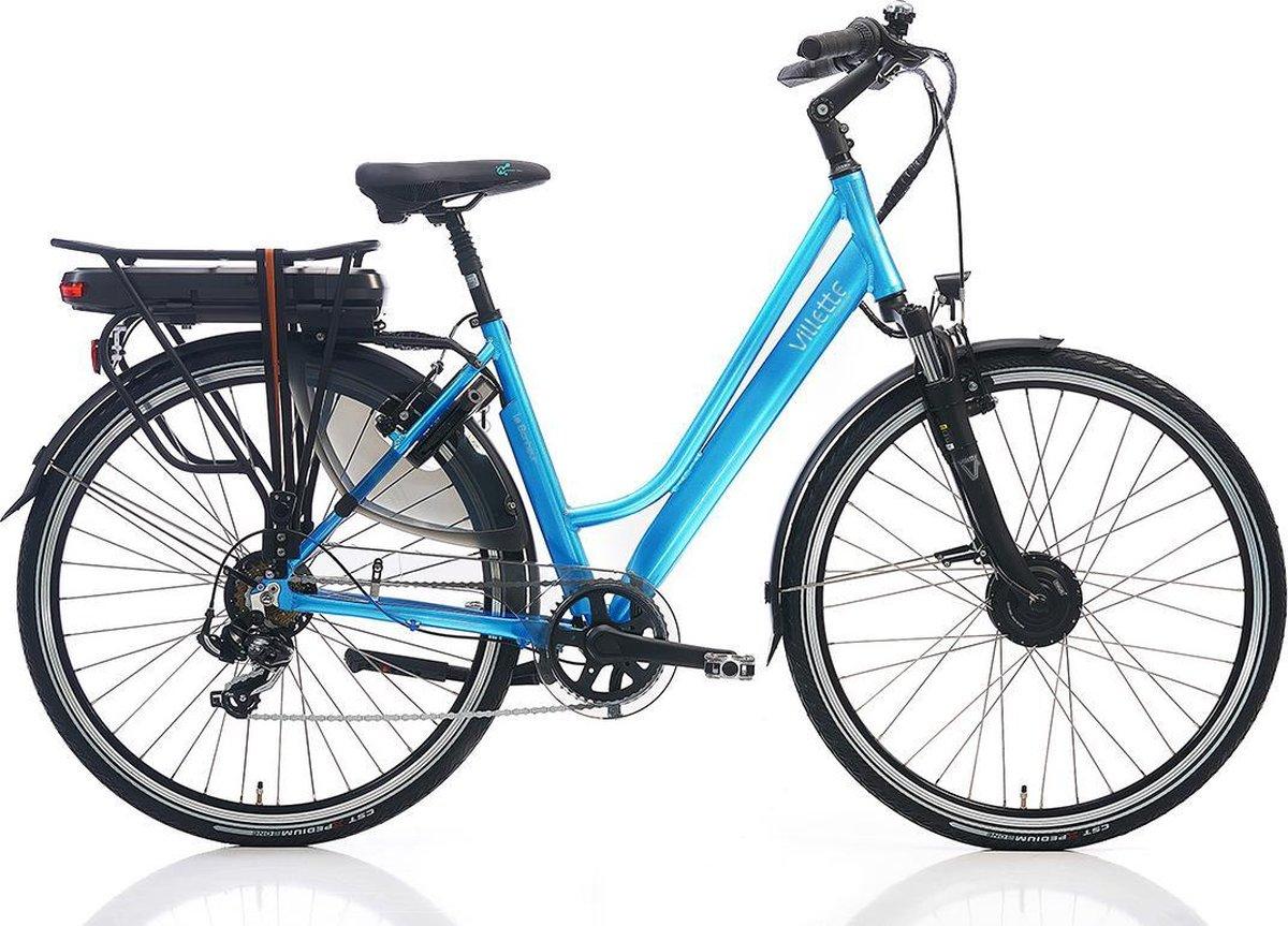 Villette le Bonheur elektrische fiets turquoise