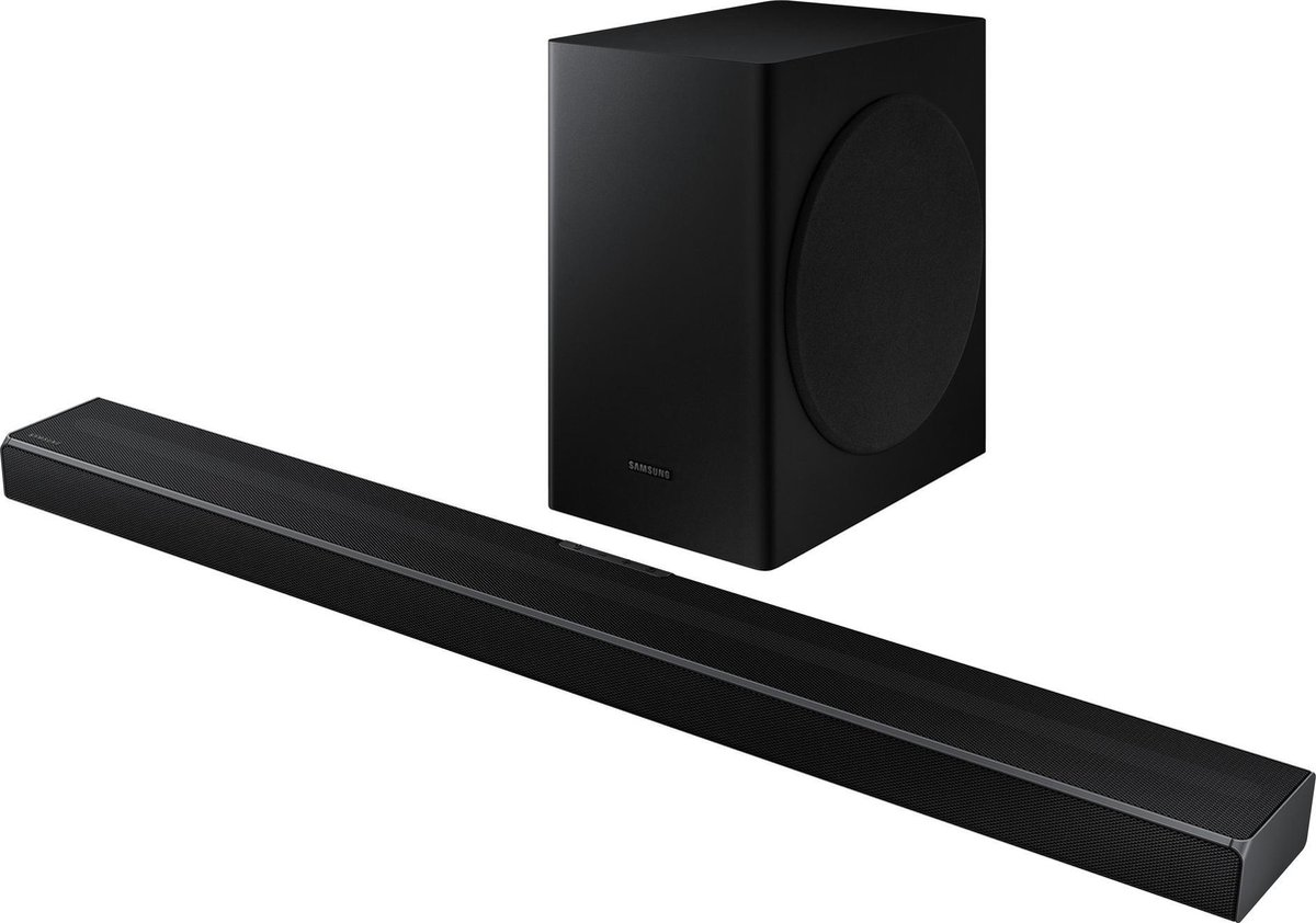 Samsung HW-Q60T – Soundbar met draadloze subwoofer – Zwart