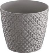 Prosperplast Orient bloempot DOR130-405U - grijs kunststof