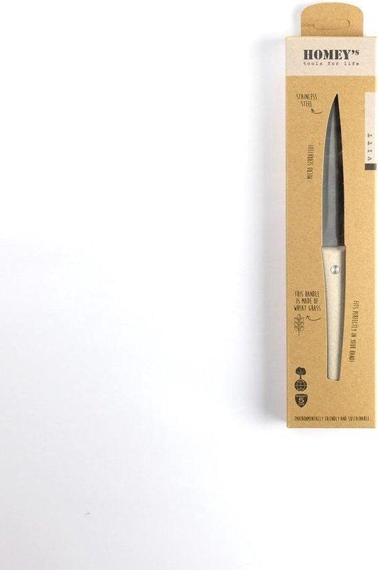 Homey's Vitt Universeel Keukenmes - 13cm