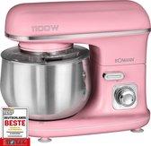 Bomann KM 6030 CB keukenmachine 1100 W 5 l Roze
