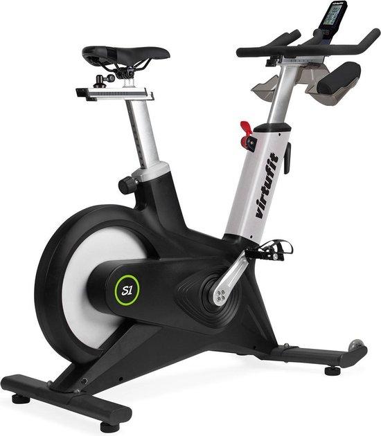Spinningfiets - VirtuFit Indoor Cycle S1 - Spinbike - LCD display en hartslagfunctie - Zwart